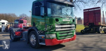 Trekker Scania SZM P380 German Truck tweedehands