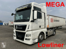 Used exceptional transport tractor unit MAN TGX 18.440 Lowliner Mega