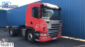 Cabeza tractora Scania G 420 productos peligrosos / ADR accidentada