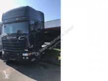 Влекач Scania R520 Topline Standklima Retarder 1. Hand втора употреба