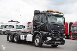 Cabeza tractora usada nc MERCEDES-BENZ - AROCS / 2552 / 6 X 4 / EURO 6 / HYDRAULIKA