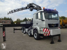 Camion MAN TGS TGS 41.480 Pritsche+MKG 671 9xAusschube Frontstz plateau occasion