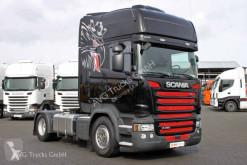 Cabeza tractora Scania R 450 SC Only Topline Standklima 2xTank ACC LDW usada