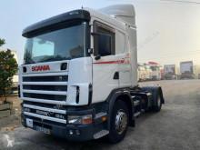 Nyergesvontató Scania L 124L470 használt