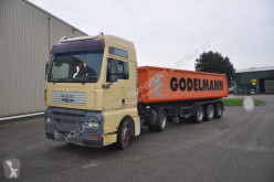 Ensemble routier benne MAN TGA 19.410