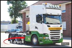 Cabeza tractora Scania R 580 , V8, 1 Hand, 130.000kg, TÜV 09/2021 convoy excepcional usada