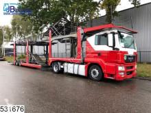 Lastbil med släp biltransport MAN TGS