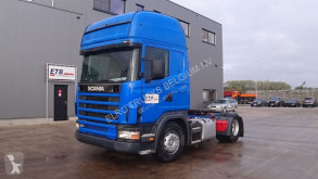 Scania 124 - 420 Topline (MANUAL GEARBOX / BOITE MANUELLE / AIRCONDITIONING) tractor unit used