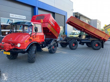 Vrachtwagen met aanhanger kipper 421 uniek!