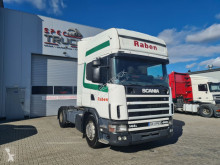 Cabeza tractora Scania R144L460, V8 Engine Manual gearbox, Steel /Air, usada