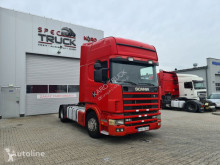 Влекач Scania 124L420, Steel /Air, RETARDER, Manual Gearbox втора употреба