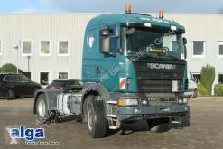 Cabeza tractora Scania G 440 4x4, Euro 6, Retarder, Hydraulik, Navi usada