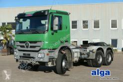 Cabeza tractora Mercedes 3346 Actros 6x6, MP3, Blatt/Blatt, Hydraulik