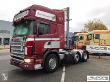 Tratores Scania 124.420 Steel/Air - Manual - Special interior usado