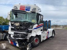 Cabeza tractora Scania R 500 accidentada