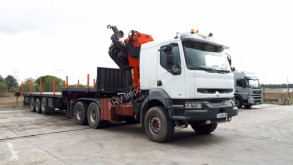 Tracteur Renault CABEZA TRACTORA RENAULT 385 6x4 PALFINGER PK 54000 + SEMIRREMOL occasion