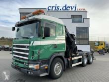 Nyergesvontató Scania R164 480 GB 6x4 V8 Hiab 400 E-7 Seilwinde | SZM használt