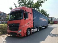 Camion remorque Mercedes Actros ACTROS 1842 GigaSpace/Retarder/Komplettzug savoyarde occasion