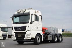 MAN tractor unit TGX - 33.480 / 6 X 4 / EURO 6 / HYDRAULIKA / 3 OSIE