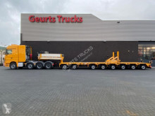 Ledat fordon maskinbärare Mercedes 4165 SLT + GOLDHOFER STZ-P 8-91/80A 2+6 1X EXTENDABLE SEMI LOW LOADER