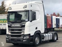 Nyergesvontató Scania R 450 balesetes