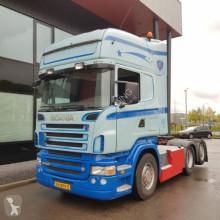 Scania Sattelzugmaschine R500 LA6x2MNB analog tacho vollucht manual topline nieuwe apk