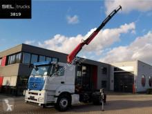 Mercedes Axor 1843 LS / FASSI Kran bis 18,80 m tractor unit used