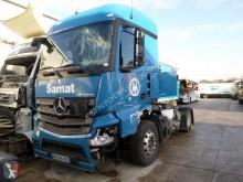 Тягач Mercedes Actros 1843 LS опасные продукты / правила перевозки опасных грузов после аварии