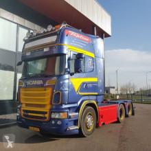 Trekker Scania R560LA6X2 vollucht topline hydrauliks tweedehands