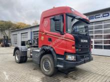 Cabeza tractora Scania G410 4x4 Euro 6 SZM Kipphydraulik + Retarder! usada