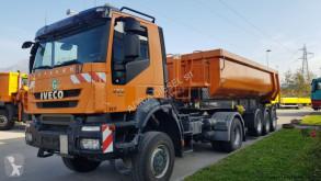 Ensemble routier benne Iveco Trakker 450