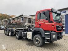 Ledat fordon MAN TGS 18.420 BB Euro 6 fest 4x4 + Kipp MEIERLING flak begagnad