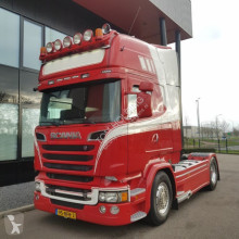 Trattore Scania R520 topline euro6 V8 LA4X2MNB optiecruise full air retarder usato
