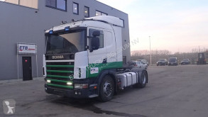Тягач Scania 124 - 400 (MANUAL PUMP / MANUAL GEARBOX / WITH HYDRAULIC PUMP / EURO 2) б/у