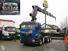 Tracteur MAN TG-S 26.540 6x4 BLS Sattelzugmaschine Kran Hiab 600 occasion