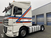DAF XF105 tractor unit damaged