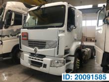 Trekker Renault Premium 430 DXI geaccidenteerde gevaarlijke stoffen / vervoer gevaarlijke stoffen