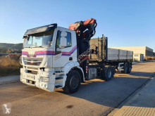 Iveco Stralis 460 tractor-trailer used dropside flatbed