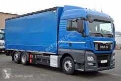 MAN TGX 26.440 Schiebeplane Lenkachse LBW 2 t ADR FL truck used tautliner