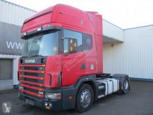 جرار Scania 124L420 , manual , , PTO/Tip hydraulic , airco مستعمل