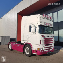 Trattore Scania R580 LA4X2MNA topline manual retarder OLD TACHO Holland truck to usato