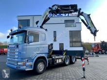 Scania Sattelzugmaschine R164 480 GA 6x4 Palfinger PK 36002 + Fly Jib SZM