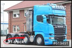 جرار Scania R 730 , V8, Topline, Hydaulik + Nebenantieb مستعمل