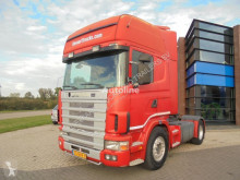 Tahač Scania 144L460 V8 Topline / Manual / Retarder / NL / APK použitý