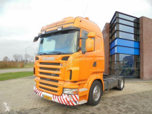 Trekker Scania R400 Lowdeck / CR19 Cab / Retarder / Opticruise / NL Truck tweedehands
