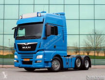 MAN TGX 26.460 6X2 BLS EURO 6 2 TANKS LOW KILOMETER HOLLAND TRUCK tractor unit used