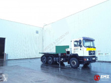 MAN flatbed truck 26.372 Palfinger Pk35000/ 8 extensions