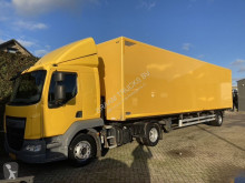 Ensemble routier DAF LF 280 FT incl. Trailer Heiwo city oplegger fourgon occasion