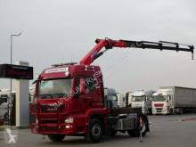 MAN TGS 18.400 / 4X4/HYDRODRIVE+CRANE HMF 1820/RADIO tractor unit used