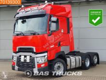 Renault tractor unit T520 High Hydraulik Liftachse 2x Tanks Xenon